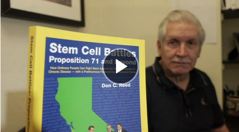 NEW STEM CELL RESEARCH BOOK REVEALS PEOPLE'S STRUGGLES