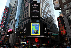 times square STEM-CELL-BATTLES