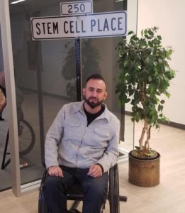 Rich Lajara was first to receive embryonic stem cell therapy, for safety testing: CIRM photo