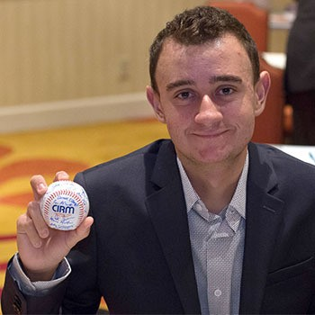 Brenden Whitaker and the CIRM baseball award